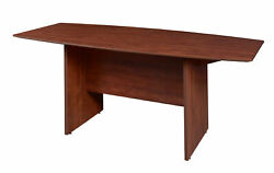 Sandia 71 Boat Shape Conference Table Featuring Lockdowel Assembly