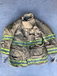 Firefighter Globe Turnout Bunker Coat 39x29 G-xtreme 2008 No Cut Out