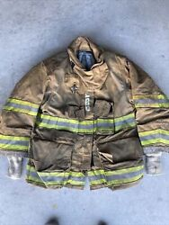 Firefighter Globe Turnout Bunker Coat 41x29 G-xtreme 2008 No Cut Out