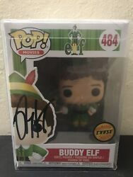 Buddy The Elf Chase Autograph Signed By Kyle Gass Of Tenacious D Funko Pop 484
