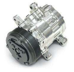 March Chrome Sanden 7176 Compact Air Conditioning Compressor P/n P412