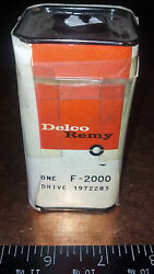Vintage Nos Delco Remy 1972283 Starter Drive 1960 61 Ford Falcon Comet Van 6cyl