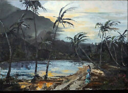 Absolute Masterpiece Of Anti-exoticism Coconut Palms After Rain Elma Taylor