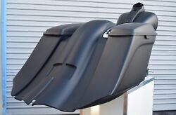 Harley Davidson 7down And Out Extended Saddlebags/fender Touring Bikes 1998-2013