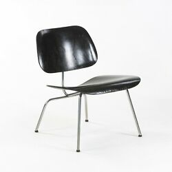 1952 Herman Miller Eames Lcm Lounge Chair Metal Legs With Ebonized Wood Finish