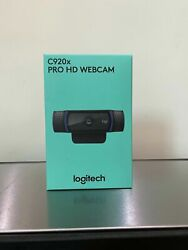 Logitech C920x Business Webcam - 1080p30fps - Brand New And Sealed ----- Zoom