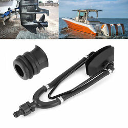 Outboard Boat Motor Water Flusher Fast Dual Feed Large Rectangular Ear Muffs