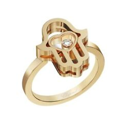 Bague Chopard Happy Diamonds Good Luck Charms Taille 53 - 827864-5010
