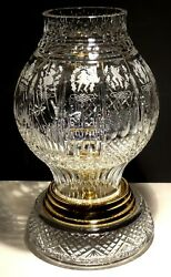 Waterford Crystal 12 Days Of Christmas Footed Hurricane 40/500 Ireland Made