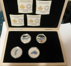 2014 The Great Lakes Fine Silver Coins Missing Lake Huron 1oz Each Coin