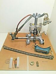 Koike Sanso Picle 1-ii Portable Pipe Cutting Machine W/torch, Chain, And Extras
