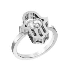 Bague Chopard Happy Diamonds Or Blanc Good Luck Charms - 827864-1010