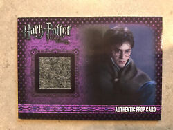 Harry Potter Deathly Hallows Blankets From Tent Prop Card P2 287/330