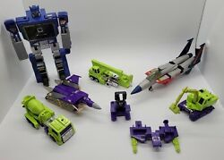 Vintage 1980and039s Hasbro Transformers G1 Lot Nice Parts Read