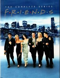 Friends The Complete Series Brand New 32 DVD Gift Box Set Free Shipping USA $46.95