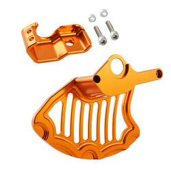 Front Lower Fork Leg Brake Disc Guard For Ktm 350 450 500 530 Exc F Xcf-w Xcw Xc
