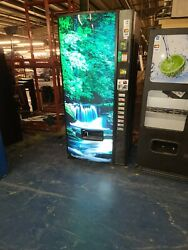 Full Size Unbranded Soda Vending Machine 9 Selections Has Cc Apple Pay And Bill