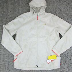 Under Armour Recovery Legacy Light Camo Windbreaker Jacket 1355215 Large 120