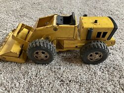 Vintage Yellow Tonka Toy Truck Front End Loader No 52910