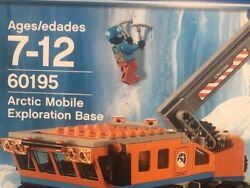 New Lego 60195 City Arctic Mobile Exploration Base Snowmobile Wooly Mammoth