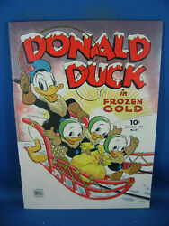 Four Color 62 Donald Duck Vf- Frozen Gold Carl Barks 1944