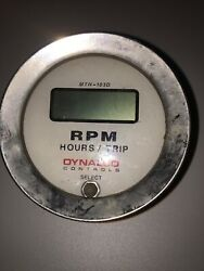 Dynalco Controls Mth-103d Tachometer Used
