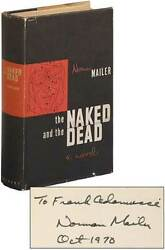 Norman Mailer / The Naked And The Dead Signed 1st Edition 1948