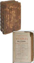Thomas Comber / Companion To The Temple Or Help To Devotion In The Use 1702