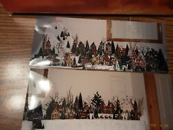 Dept 56 Christmas Village, Over 50 Buildings On 18 Feet Of Tables....