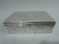 Reed And Barton Box - 110 - Antique Art Nouveau - American Sterling Silver