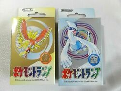 Nintendo Pokemon Playing Cards 1999-pokemon Gold And Silver Set Made In Japan