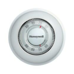 Honeywell Ct87k Round Non-programmable Thermostat With 1h Single Stage Heating