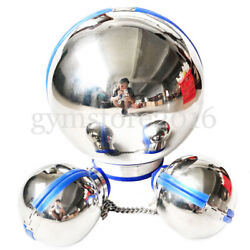 Stainless Steel Ball Hood Bondage Handcuffs Fist Mitts For Couples Restraints