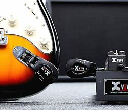 Digital Guitar Wireless Transmitter And Receiver System Rechargeable 24ghz