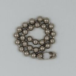 Retro Big Ball Chain Necklace Or Bracelet Choose Your Length Heavy Metal 90s