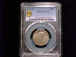1923-s Standing Liberty Quarter, About Uncirculated. A Nice, High Grade Coin.