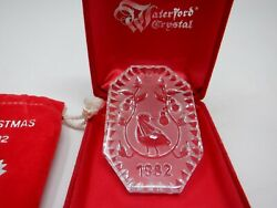 Waterford Crystal 12 Ornaments - 12 Days Of Christmas Including 1982 Partridge