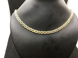 24andrdquo 14 Kt. Gold Mariner Link Chain .6.4 Mm Wide So Rich Looking.