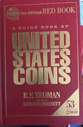 2000 Us Coins Whitman Red Book Guide - 53rd Edition By R. S. Yeoman -
