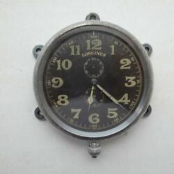 1890and039s Longines Pre-war Antique Aviation Watch Clocks Working
