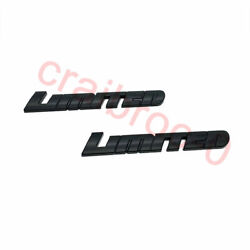 Toyota 4runner Tundra Tacoma Limited Black Out Overlay Emblem Genuine 0016-35072
