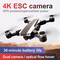 S105 Drone 5g Fpv Brushless 4k Hd Camera Gps Rc Quadcopter