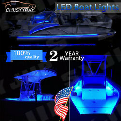 Blue Neon Under Car Accent Underbody Led Glow Rock Lights For Ford F150 F250 12v