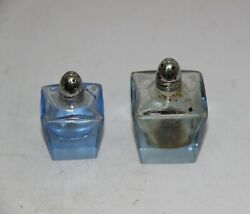 Old Collectible Perfume Dresser Vanity Glass Crystal Scent Bottle 11902