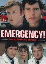EMERGENCY THE COMPLETE SERIES Plus Bonus Disc 32 DVD Box Set New Free Shipping $49.45