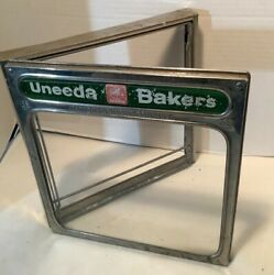 Vintage 1923 Nabisco National Biscuit Company Display Glass Display Cover Box