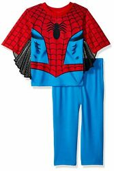 Spiderman Boys 2 Piece Uniform Set with Webbing