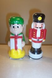 New 9 Elf And Soldier Christmas Toro Pathway Light Topper Cover Only Blow Mold