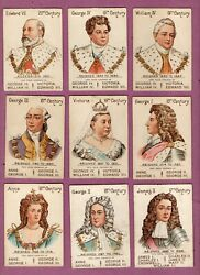 Trade/ Cigarette Cards Playing Cards Game 1902 Our Kings And Queens Mazawattee Tea