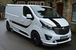 Vauxhall Vivaro Full Wide Arch Body Kit Tuning Wide Arch
